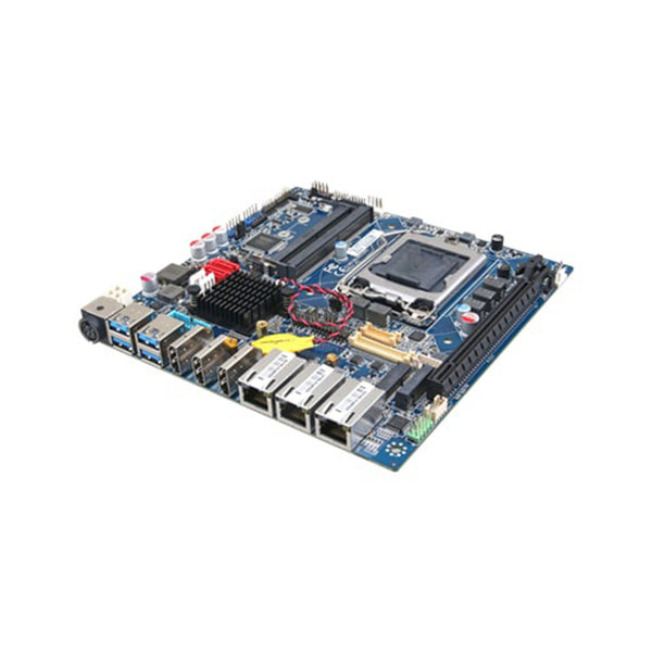 GMB-IC24600 - Industrial Motherboard / Mini-ITX / Intel 8th/9th Gen. (Coffee Lake + C246) / DC Power Supply