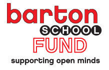 A Donation to the Barton Fund