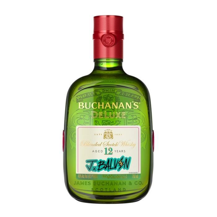 Buchanan's Deluxe J Balvin 12 Year Old Scotch Buchanan's