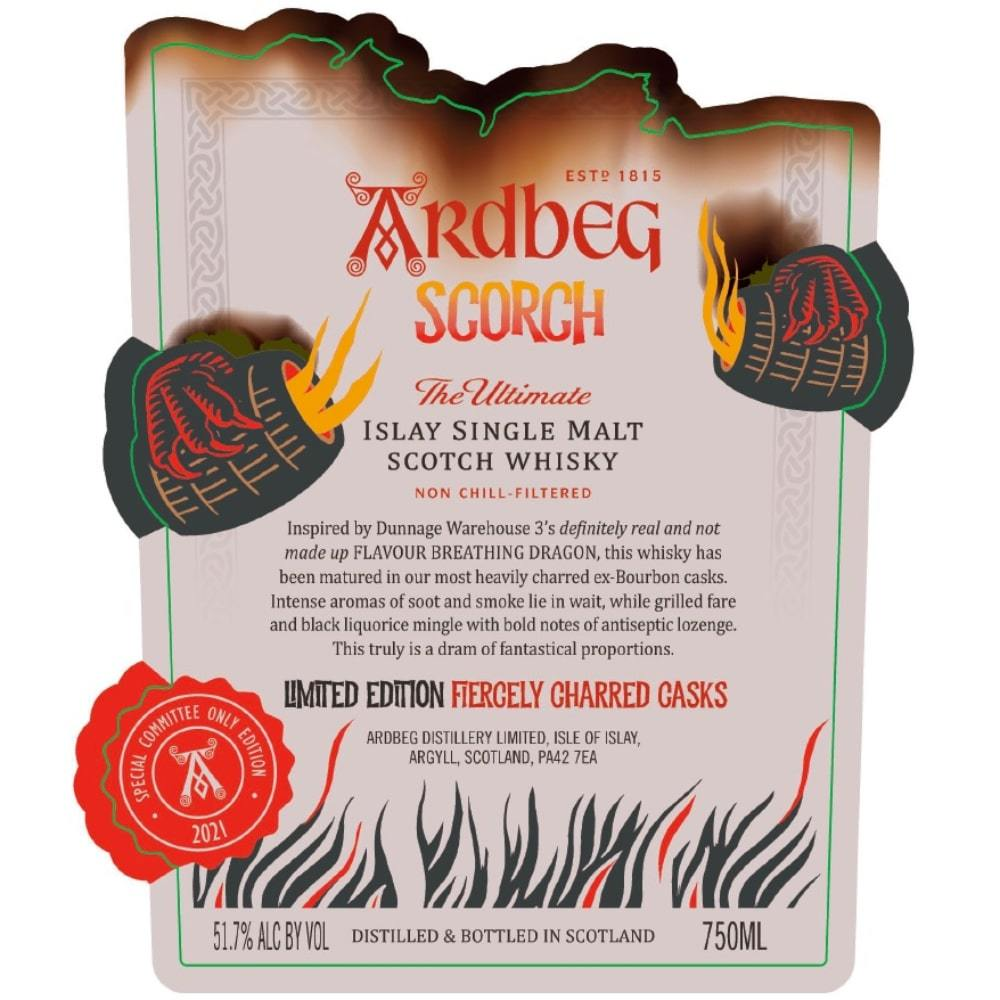 Ardbeg Scorch Fiercely Charred Casks Scotch Ardbeg