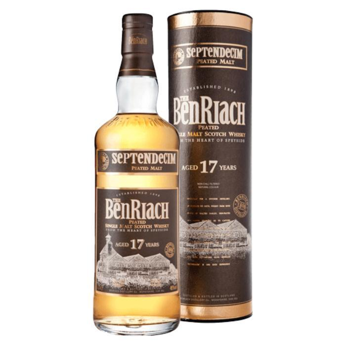 BenRiach Septendecim 17 Year Old Scotch BenRiach