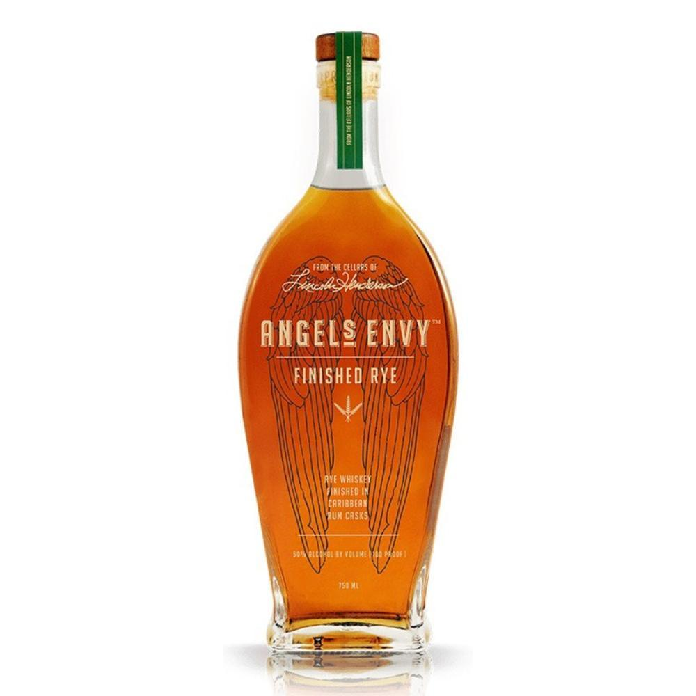 Angel's Envy Rye Whiskey Finished in Caribbean Rum Casks Rye Whiskey Angel's Envy