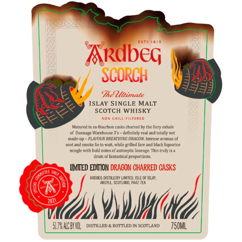 Ardbeg Scorch Scotch Ardbeg