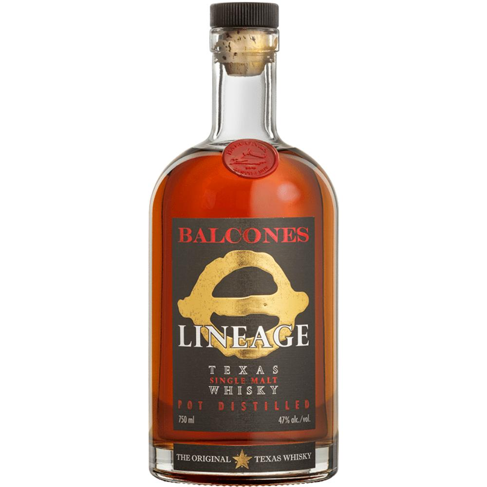 Balcones Lineage Texas Single Malt Whisky American Whiskey Balcones