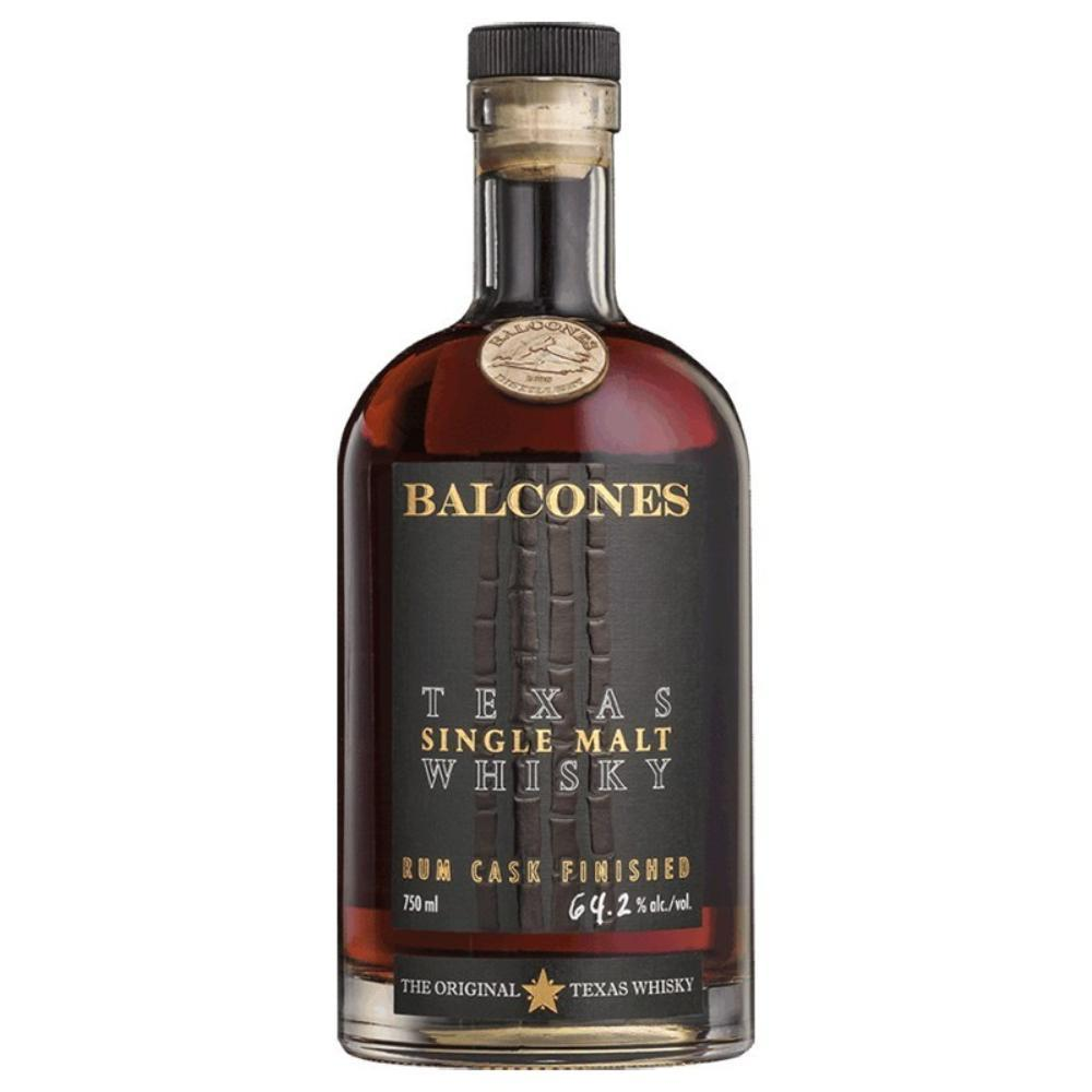 Balcones Texas Single Malt Rum Cask Finish American Whiskey Balcones