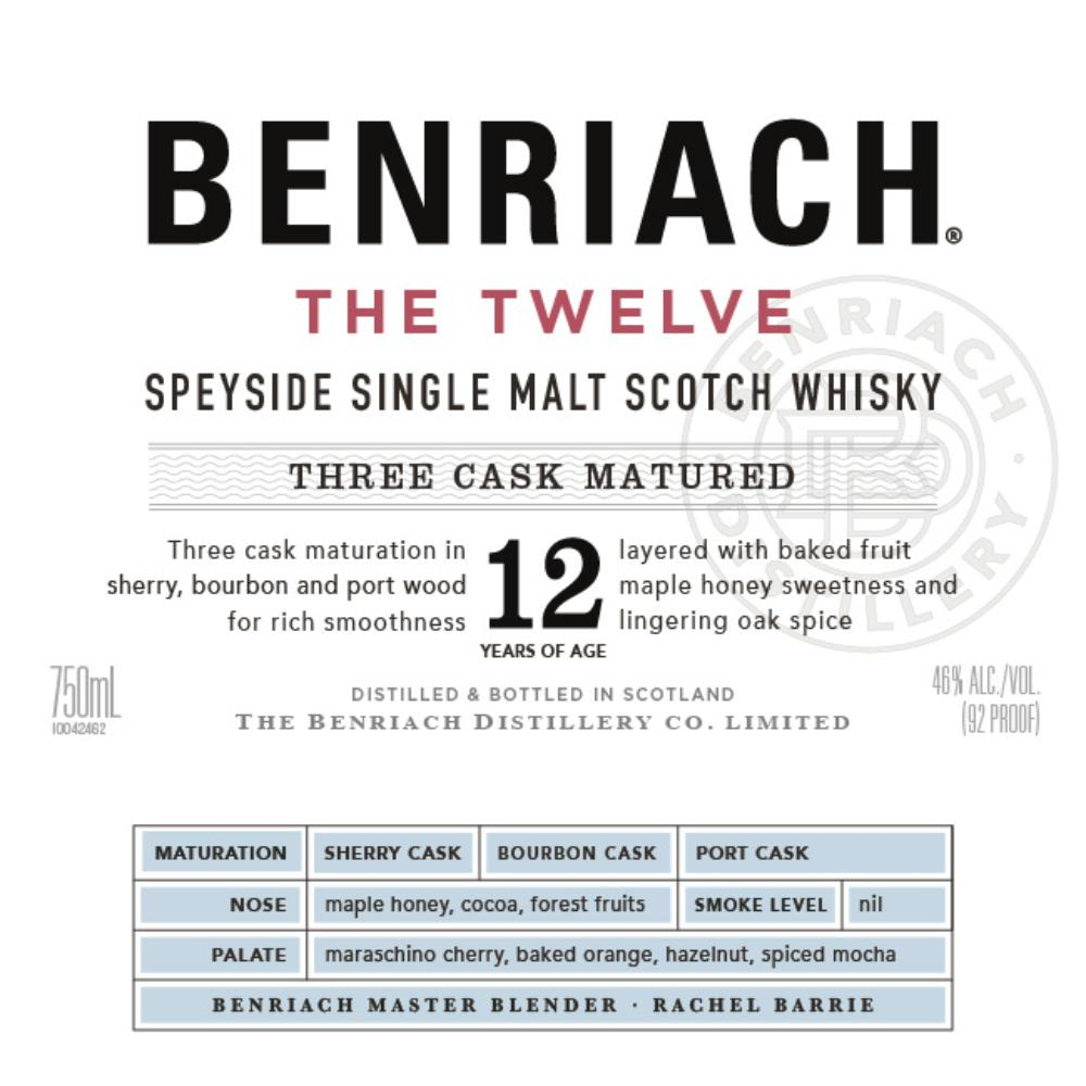 BenRiach The Twelve Scotch BenRiach
