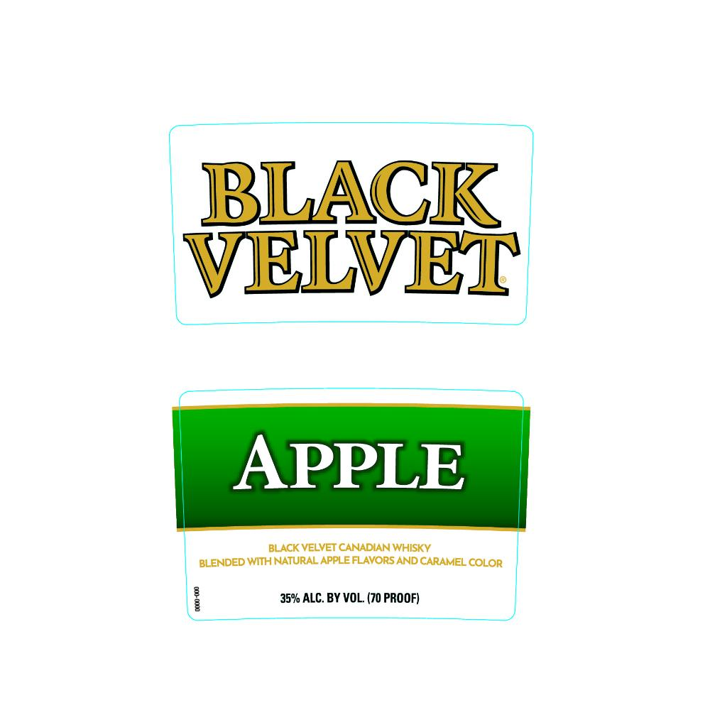 Black Velvet Apple Canadian Whisky Black Velvet