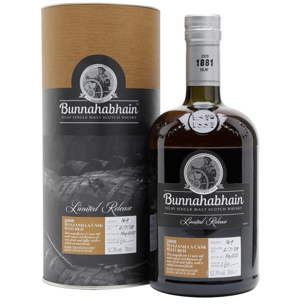 Bunnahabhain Manzanilla Cask Matured 2008 Scotch Bunnahabhain