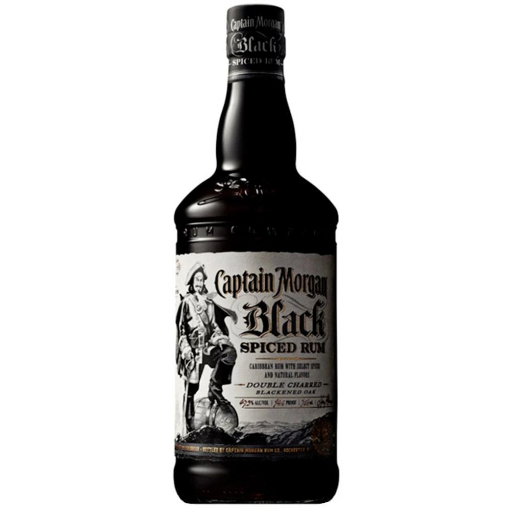 Captain Morgan Black Spiced Rum Rum Captain Morgan