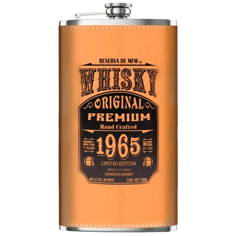 Casa Maestri Flask Canadian Whisky 750ml Canadian Whisky Casa Maestri