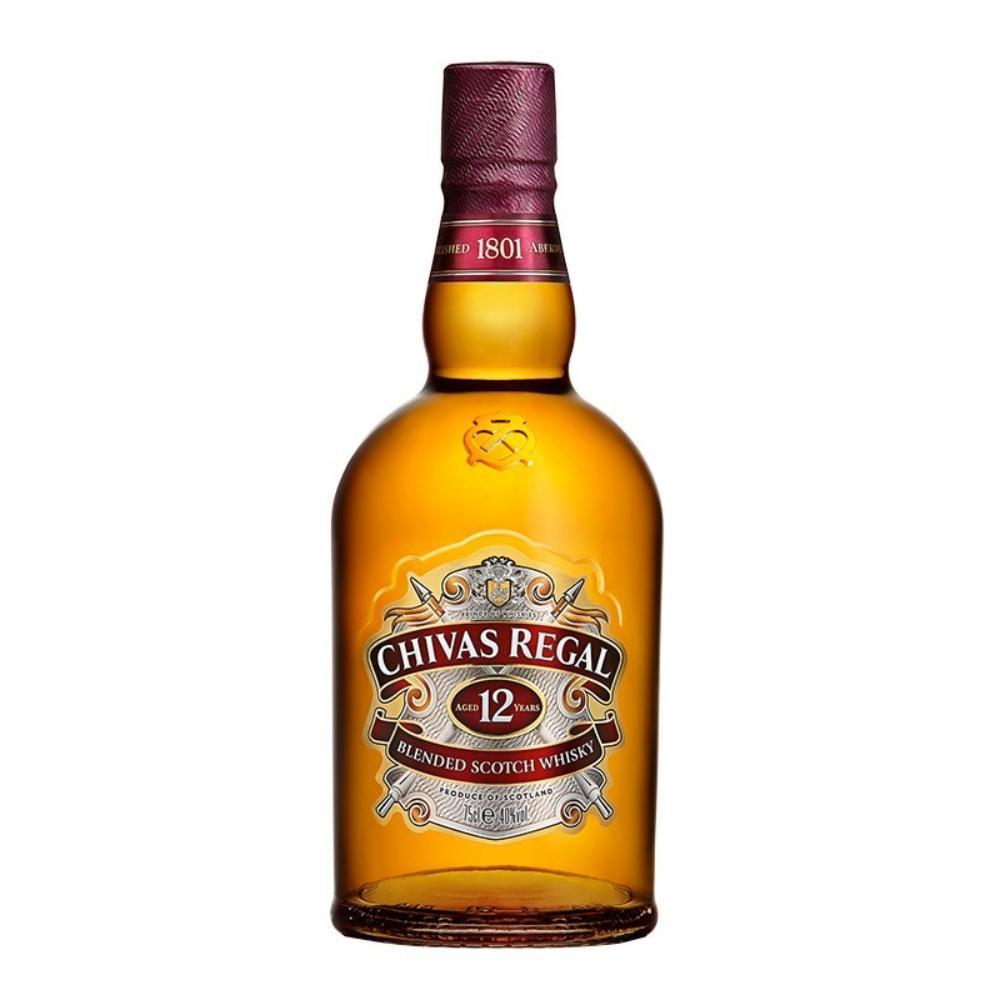Chivas Regal 12 Year Old Scotch Scotch Chivas Regal