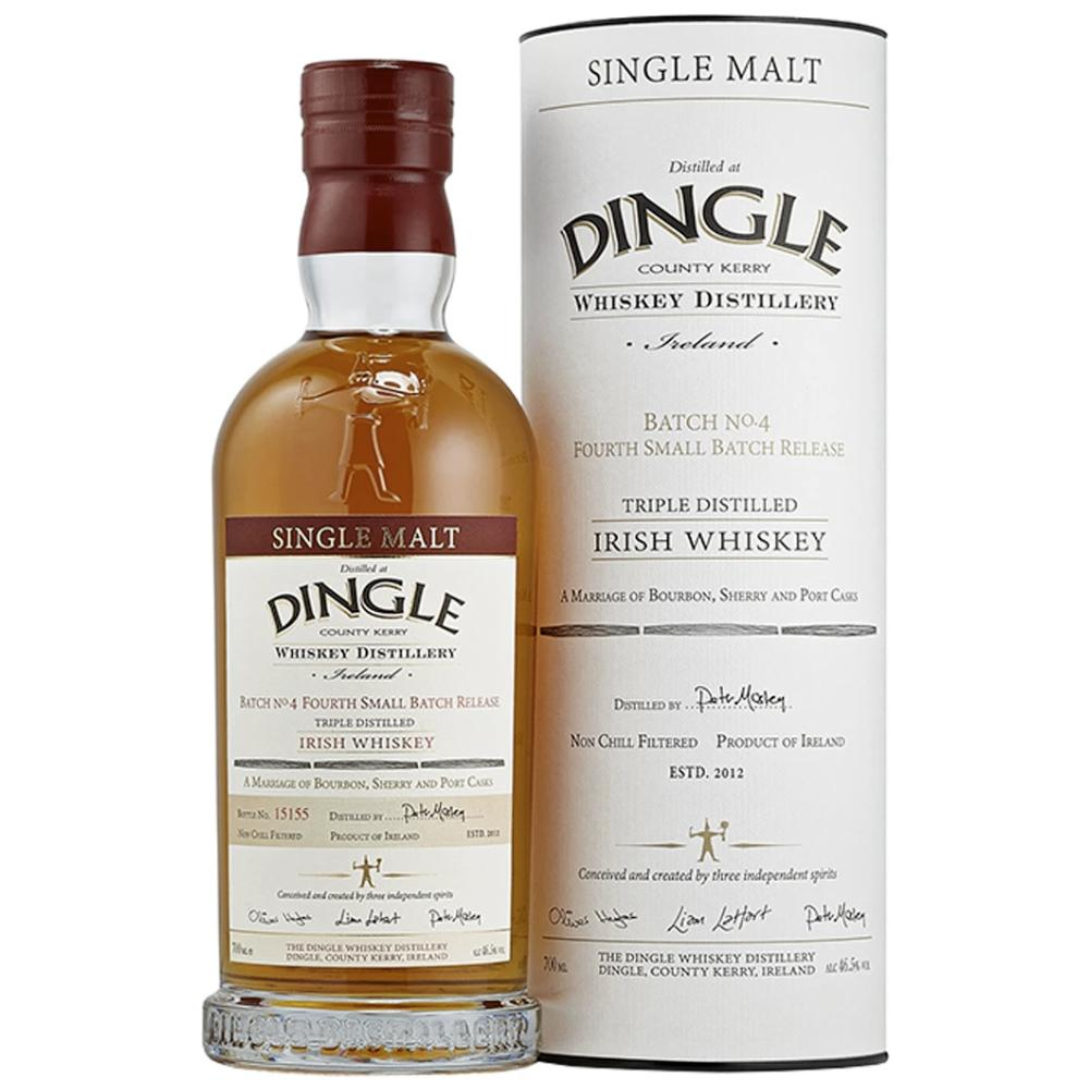 Dingle Single Malt Irish Whiskey Batch #4 Irish whiskey Dingle Distillery