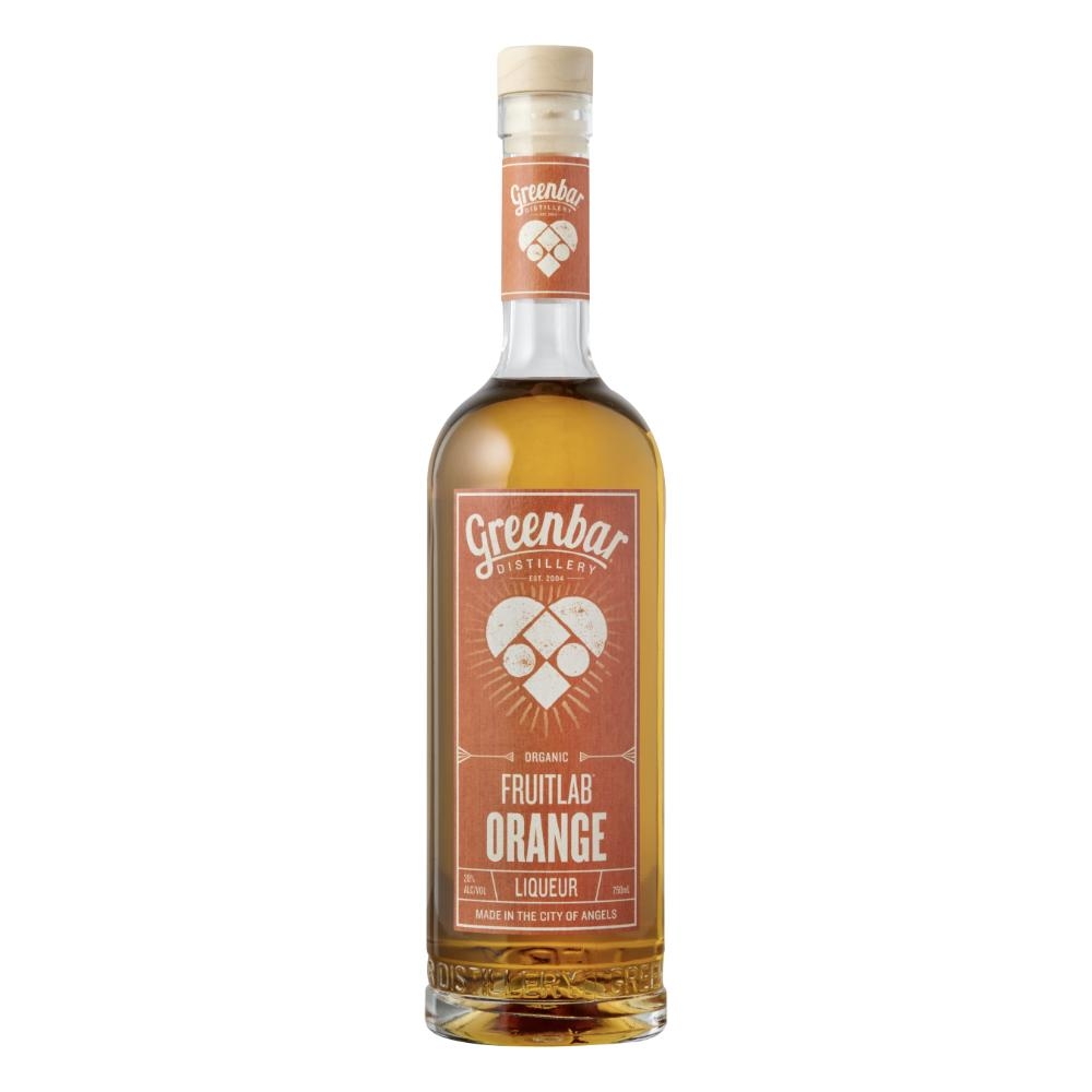Fruitlab Organic Orange Liqueur Liqueur Greenbar Distillery