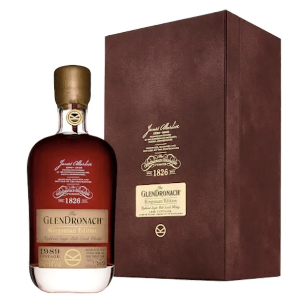 GlenDronach Kingsman Edition 1989 Vintage 29 Year Old Single Malt Scotch Scotch Glendronach