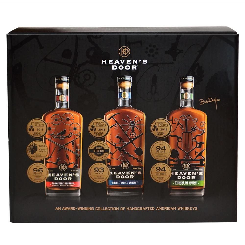 Heaven's Door Trilogy Collection Bourbon Heaven's Door Whiskey