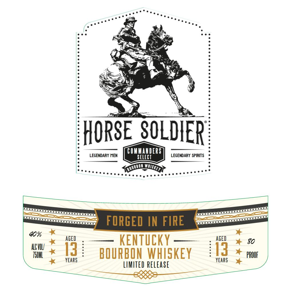 Horse Soldier Commander's Select 13 Year Old Bourbon Bourbon Horse Soldier Bourbon