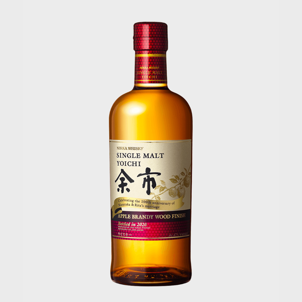 Nikka Yoichi Apple Brandy Wood Finish Japanese Whisky Nikka