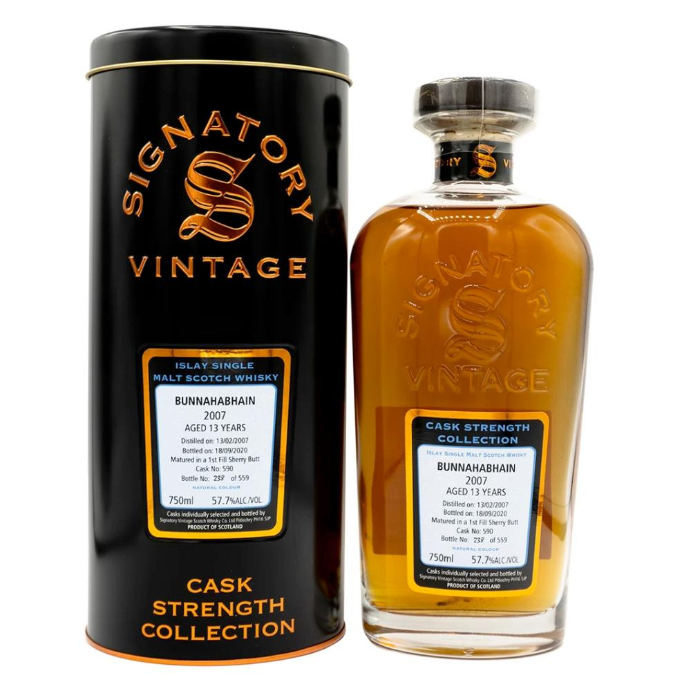 Signatory Single Cask Bunnahabhain 13 Year (Cask# 590) Scotch Signatory