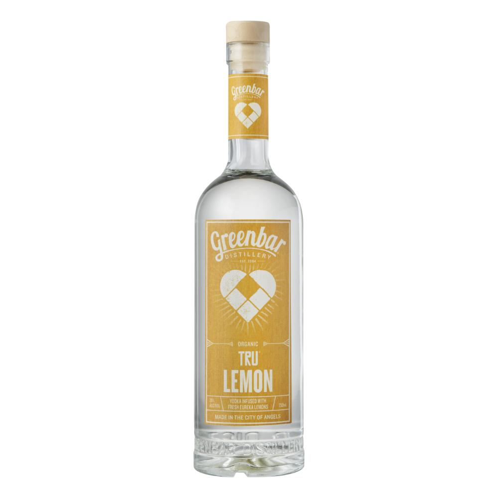 Tru Lemon Vodka Organic Vodka Greenbar Distillery