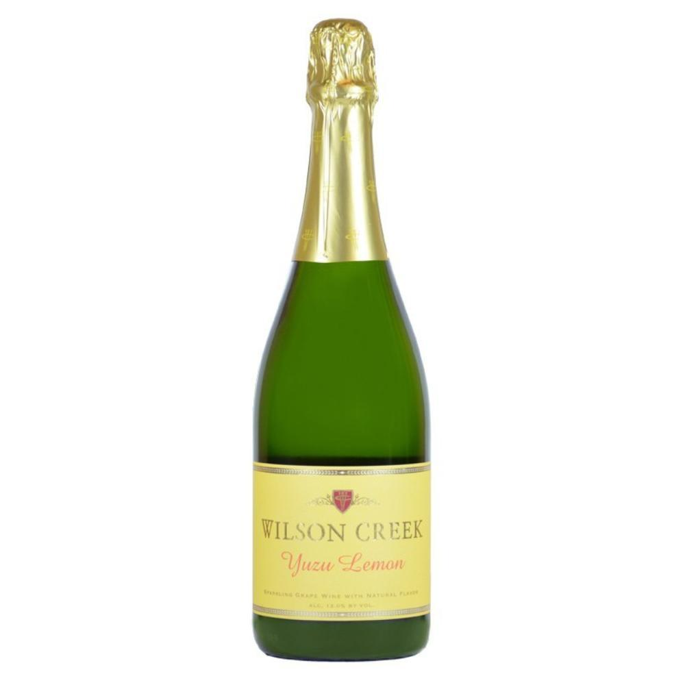 Wilson Creek Yuzu Lemon Sparkling Wine Champagne Wilson Creek