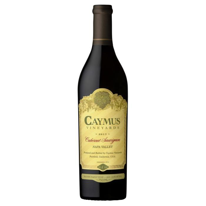 Caymus Vineyards Napa Valley Cabernet Sauvignon 2017 Wine Caymus Vinyards