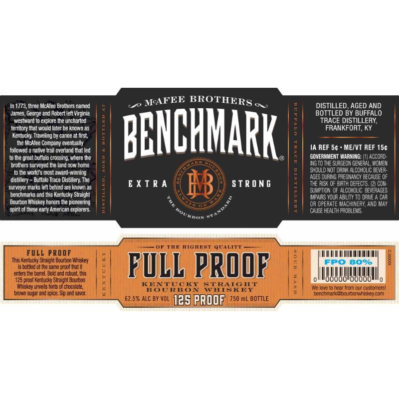 Benchmark Full Proof Bourbon Benchmark