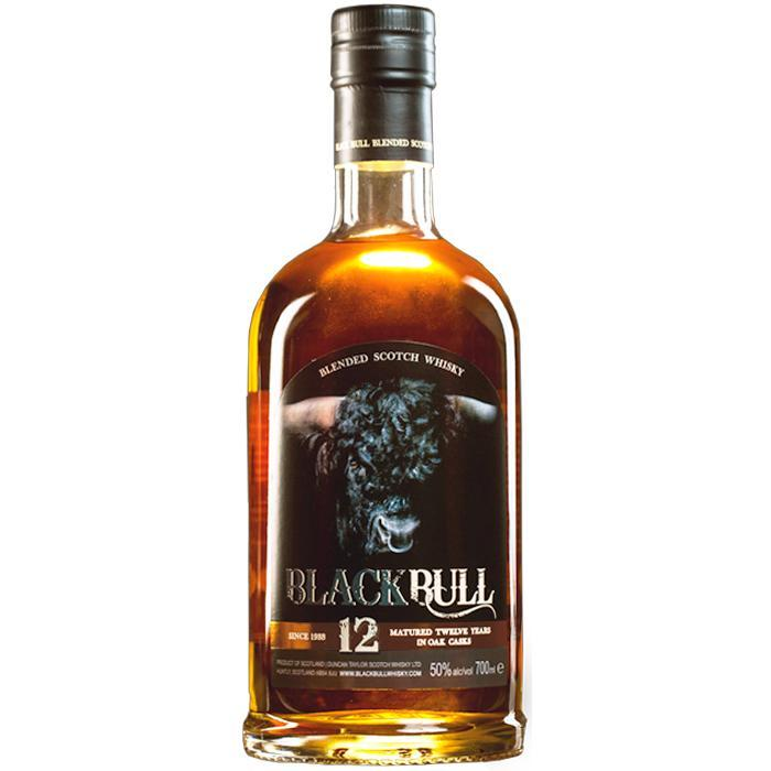 Black Bull 12 Year Old Scotch Black Bull Whisky