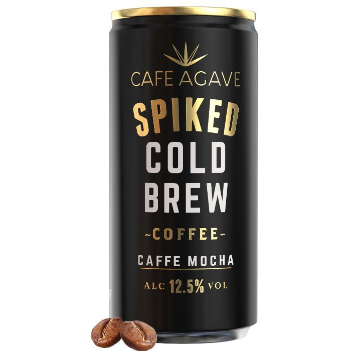 Cafe Agave Spiked Cold Brew Coffee Caffe Mocha | 4 Pack Spiked Cold Brew Coffee Cafe Agave