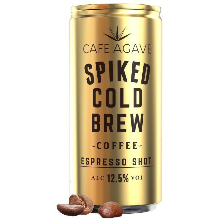 Cafe Agave Spiked Cold Brew Coffee Espresso Shot | 4 Pack Spiked Cold Brew Coffee Cafe Agave