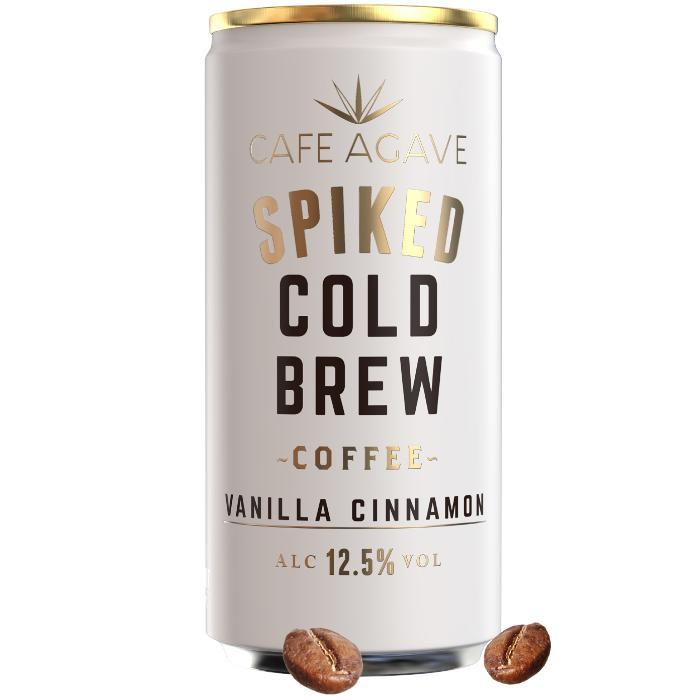 Cafe Agave Spiked Cold Brew Coffee Vanilla Cinnamon | 4 Pack Spiked Cold Brew Coffee Cafe Agave