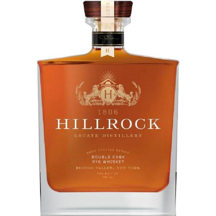 Hillrock Double Cask Rye Whiskey Rye Whiskey Hillrock
