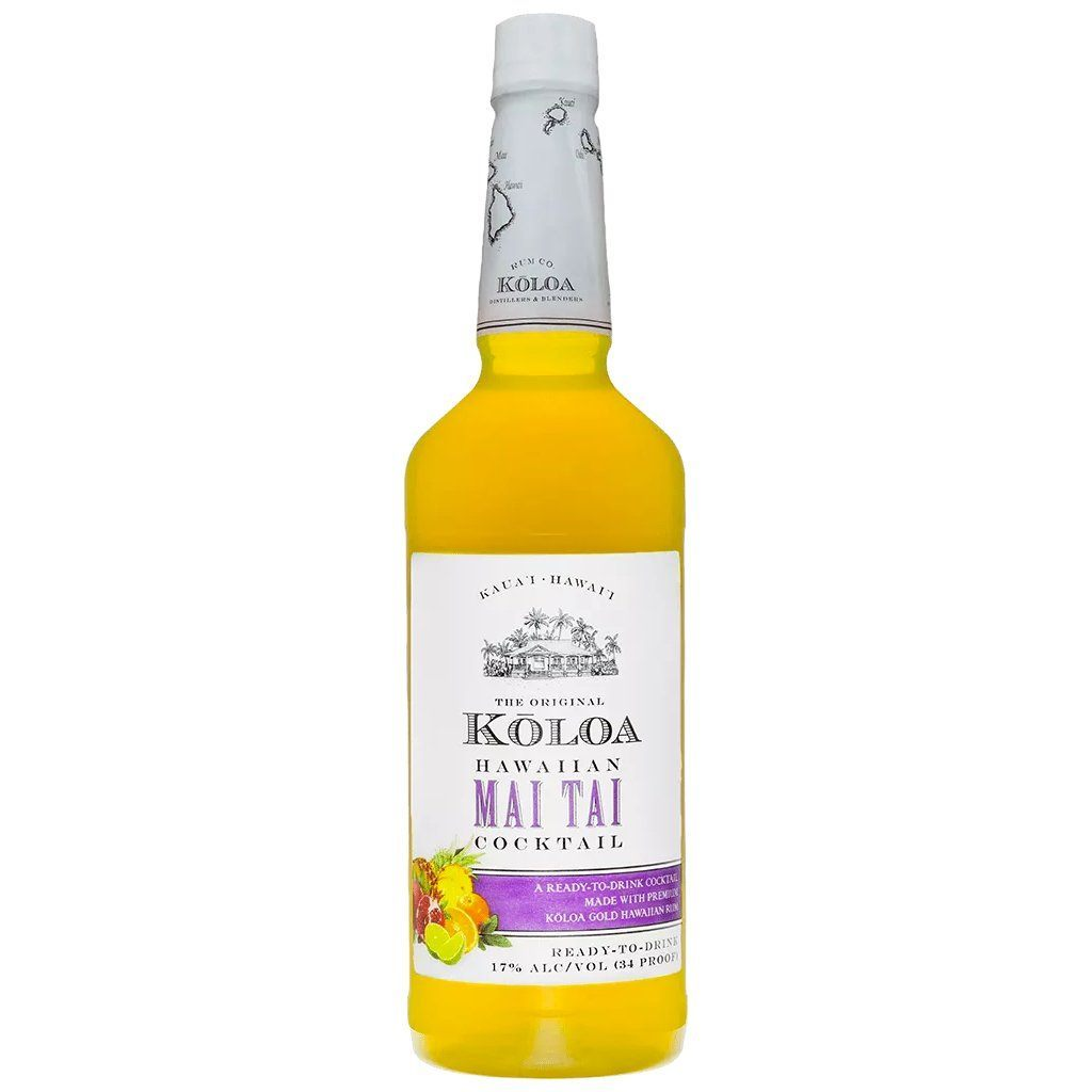 Kōloa Kauaʻi Hawaiian Mai Tai Cocktail 1.75L Cocktail Mixers Kōloa Rum