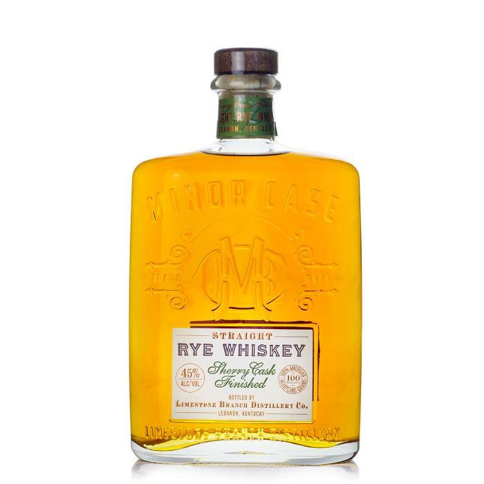 Minor Case Rye Sherry Cask Rye Whiskey Limestone Branch Distillery