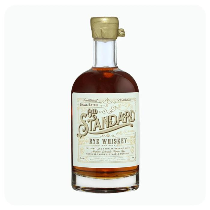 Old Standard Organic Rye Whiskey Rye Whiskey Old Town Distilling
