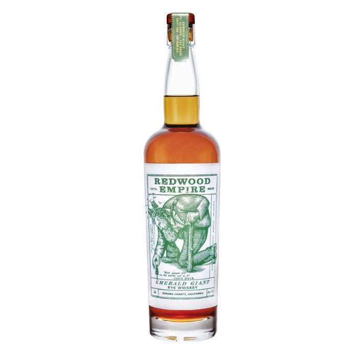 Redwood Empire Emerald Giant Rye Whiskey Rye Whiskey Redwood Empire Whiskey