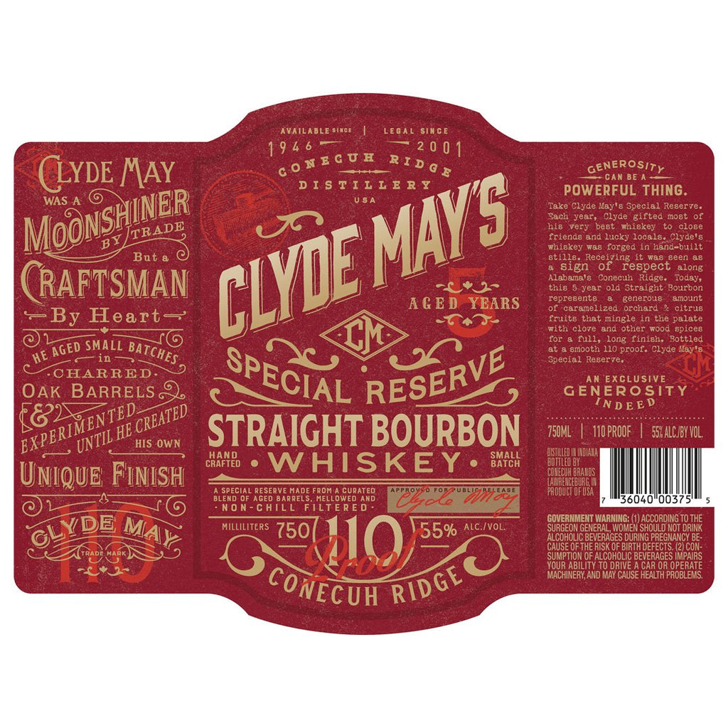 Clyde May's Special Reserve 5 Year