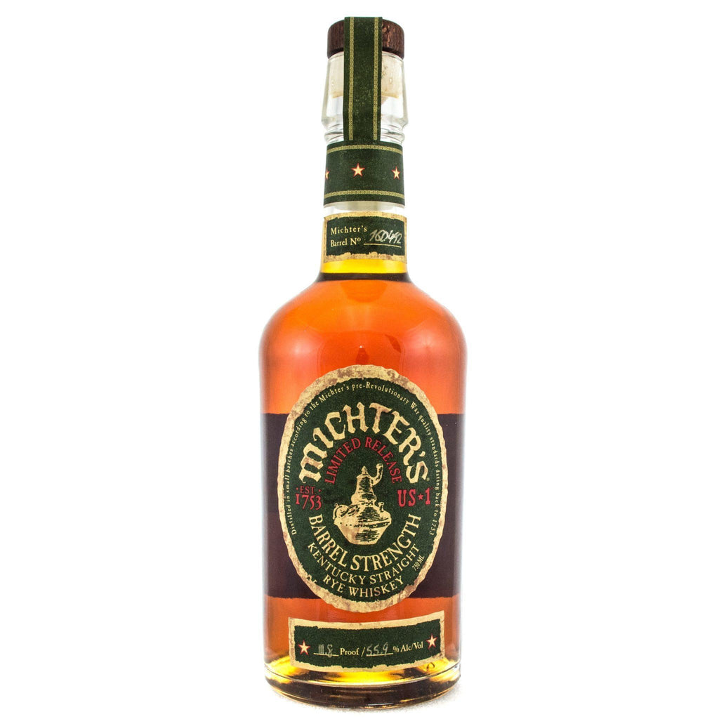 Michters Barrel Strength Rye Whiskey Michter's