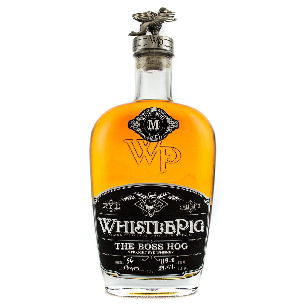 WhistlePig The Boss Hog 13 Year Old Rye Whiskey WhistlePig