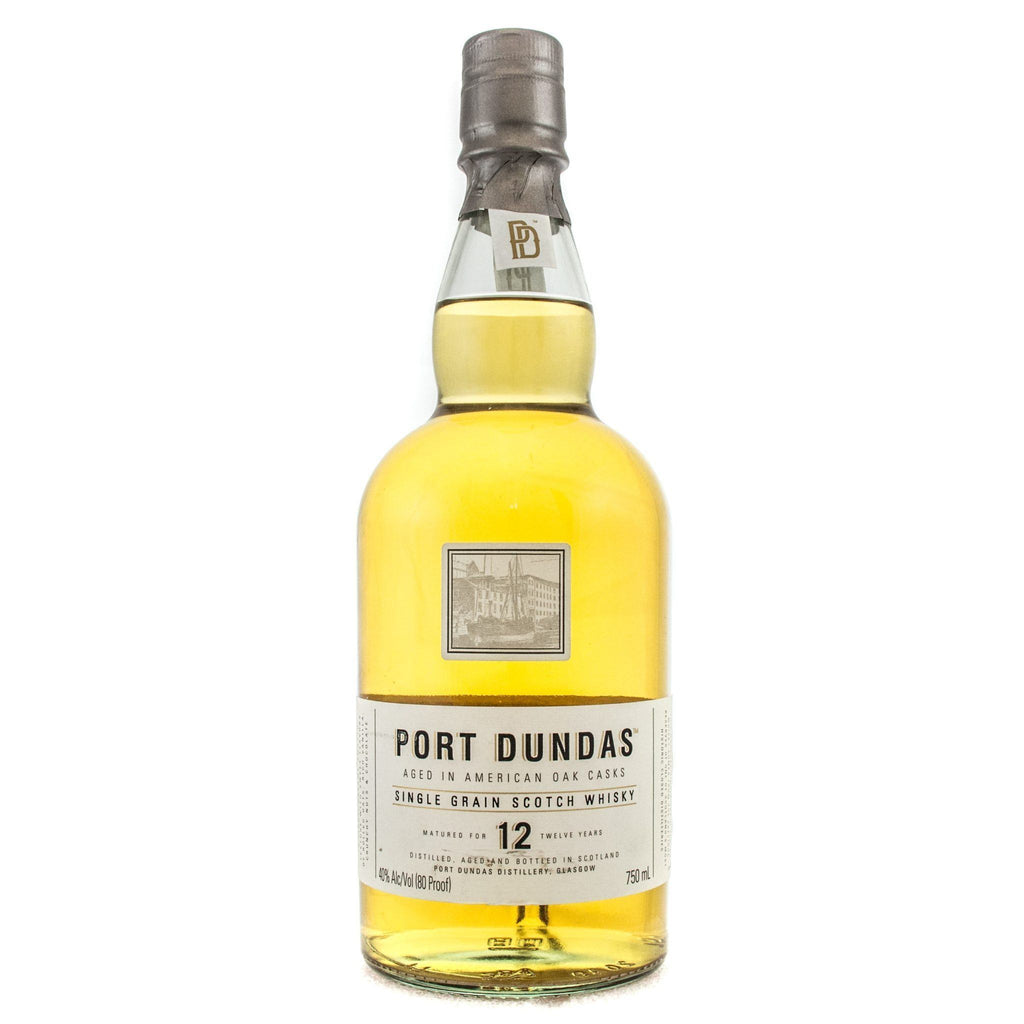 Port Dundas 12 Years Old Scotch Port Dundas