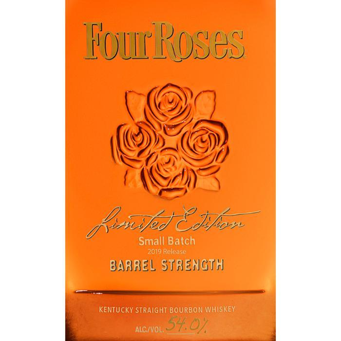 Four Roses Limited Edition Small Batch Barrel Strength 2019 Bourbon Four Roses