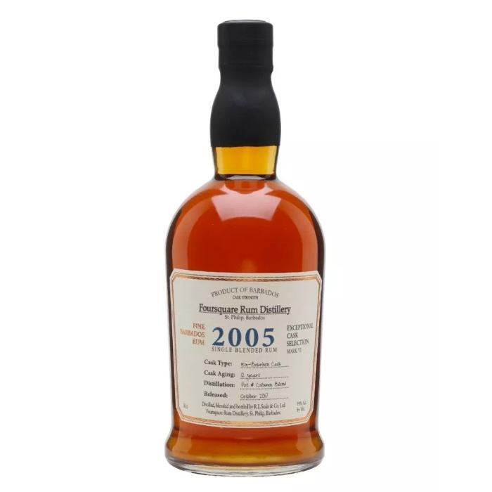 Foursquare 2005 Cask Strength Rum Rum Foursquare Rum Distillery