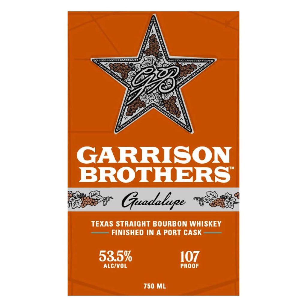 Garrison Brothers Guadalupe Straight Bourbon Straight Bourbon Whiskey Garrison Brothers