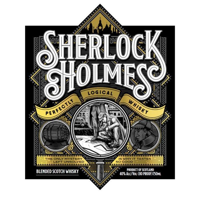 Sherlock Holmes Perfectly Logical Whisky Scotch Sherlock Holmes Whisky