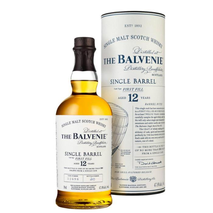 The Balvenie 12 Year Old Single Barrel Scotch The Balvenie