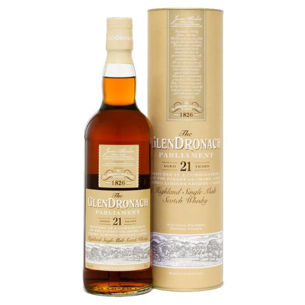 The GlenDronach Parliament 21 Years Old Scotch The Glendronach