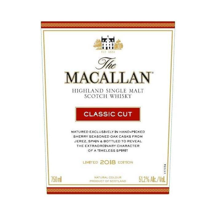 The Macallan Classic Cut 2018 Edition Scotch The Macallan