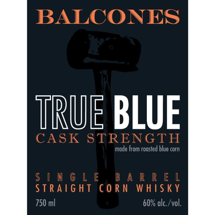 Balcones True Blue Cask Strength Single Barrel American Whiskey Balcones