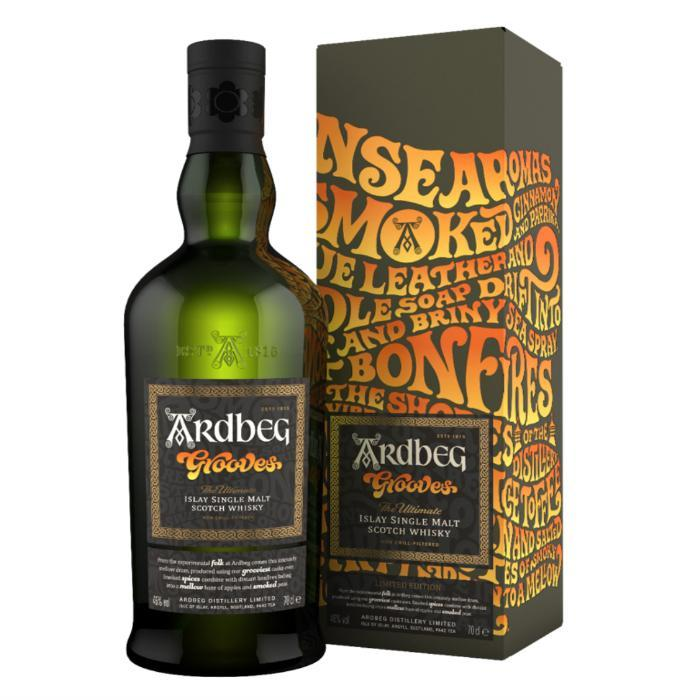 Ardbeg Grooves Limited Edition Scotch Ardbeg