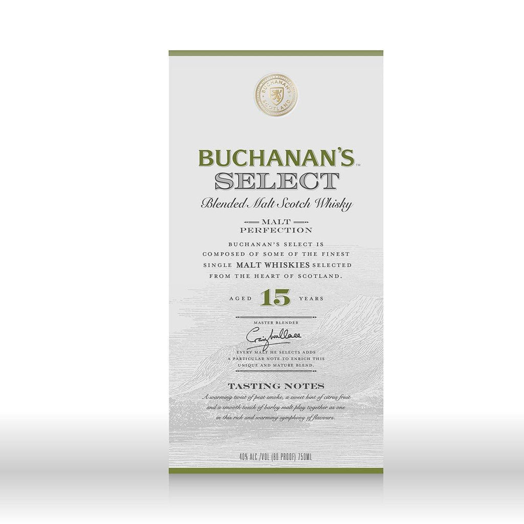 Buchanan's Select 15 Year Old Scotch Buchanan's