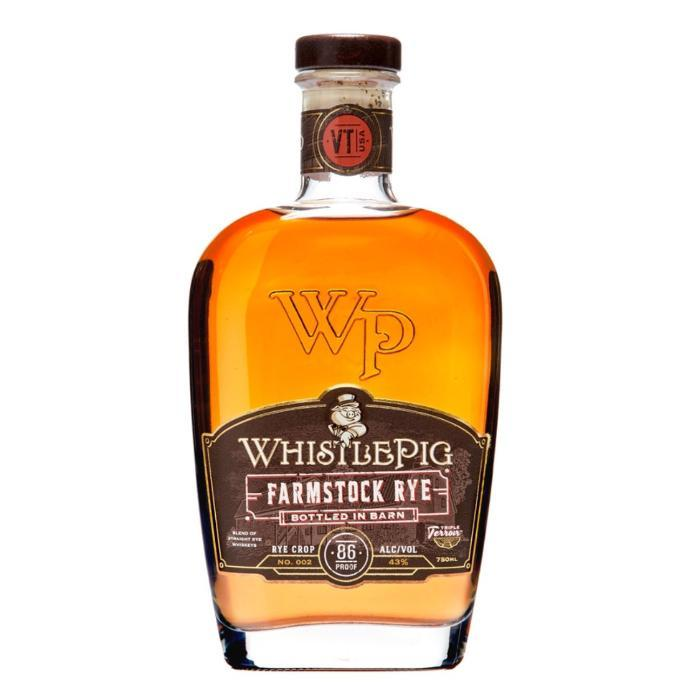 WhistlePig Farmstock Rye Crop 002 Rye Whiskey WhistlePig
